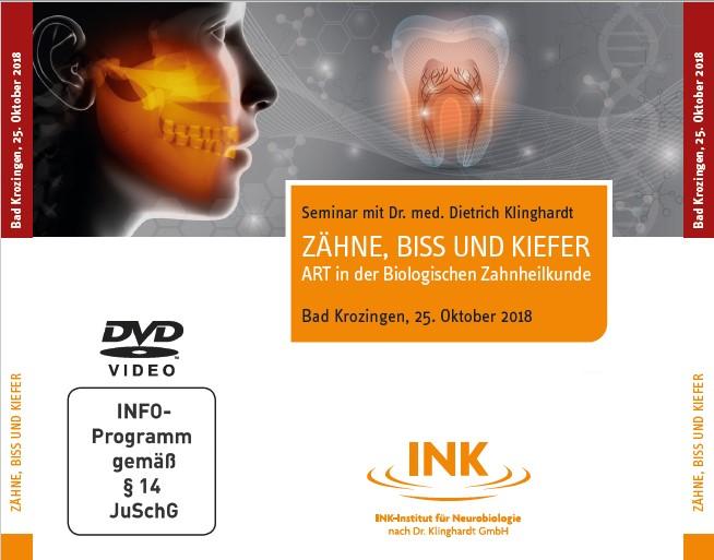 Zähne, Biss und Kiefer, 4 DVDs