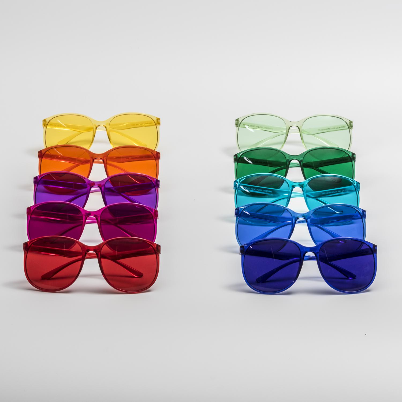 farbbrillen set 10 farben farbbrillen. Black Bedroom Furniture Sets. Home Design Ideas
